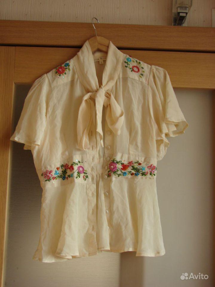 Блузки Из Натурального Шелка Купить В Уфе