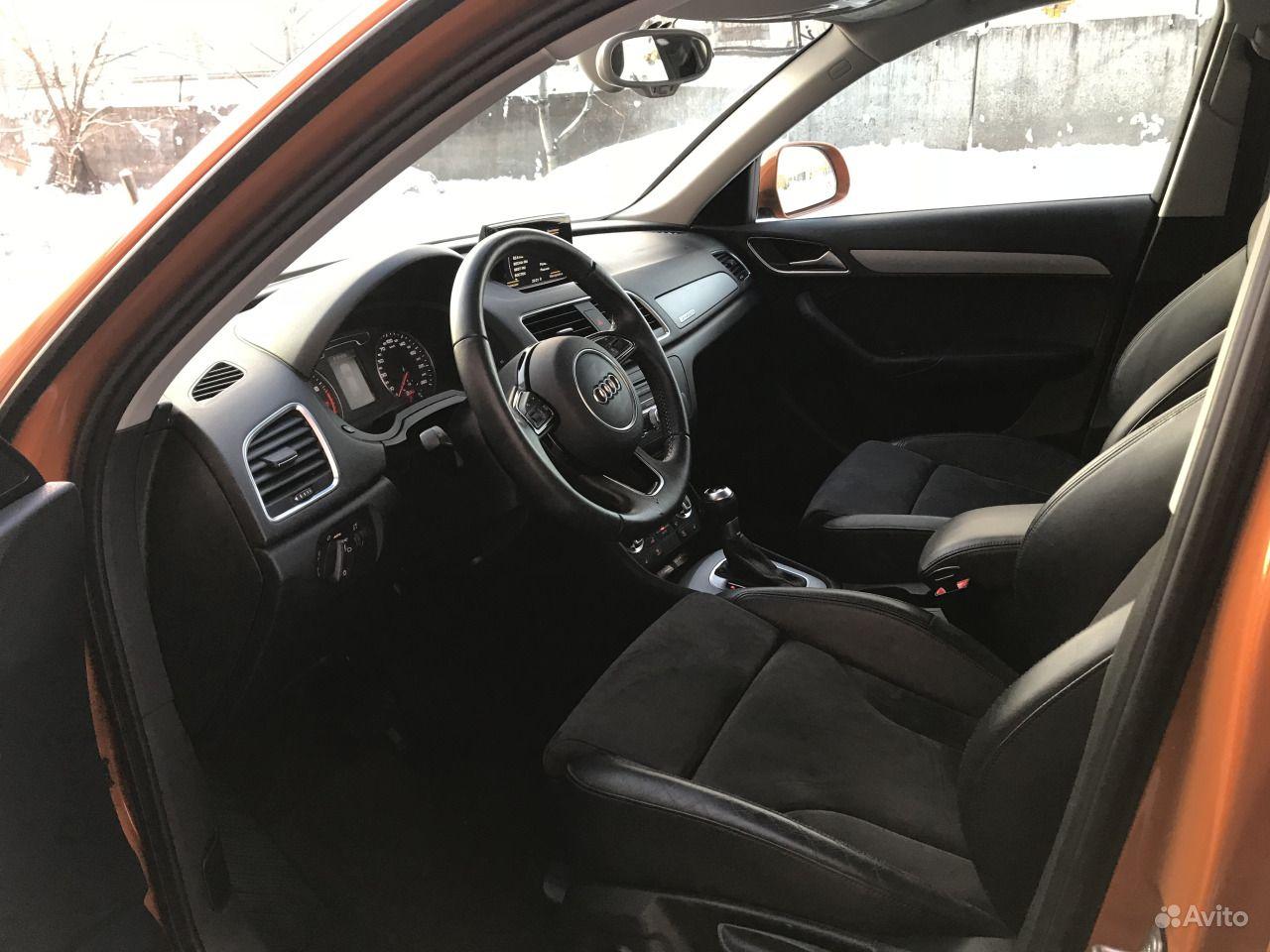 Audi Q3 2.0 AMT, 2014, внедорожник.  Москва