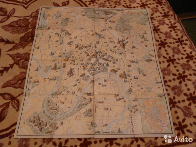 Карта-схема Панорамный план