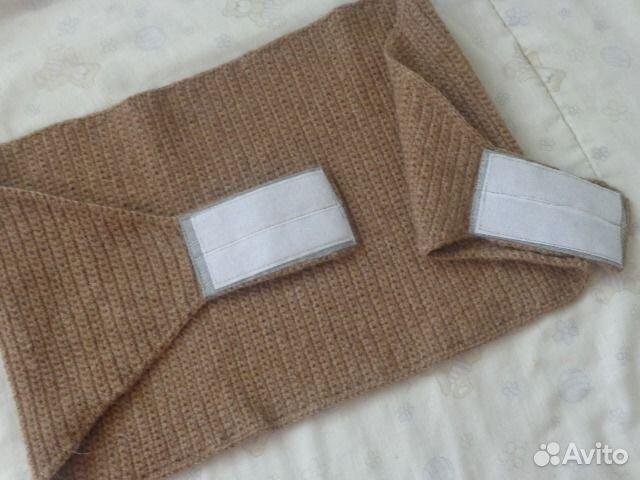 Как связать шерстяной пояс для поясницы