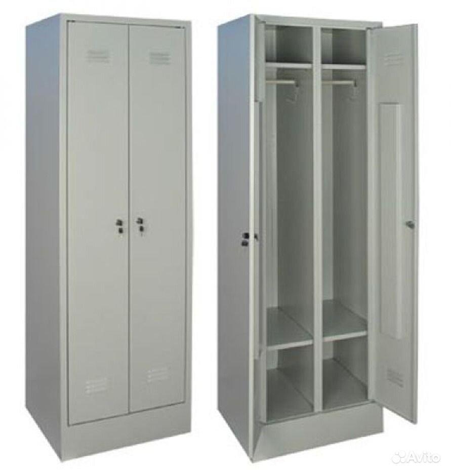 Металлические шкафы для одежды, для инвентаря, для инструмен.