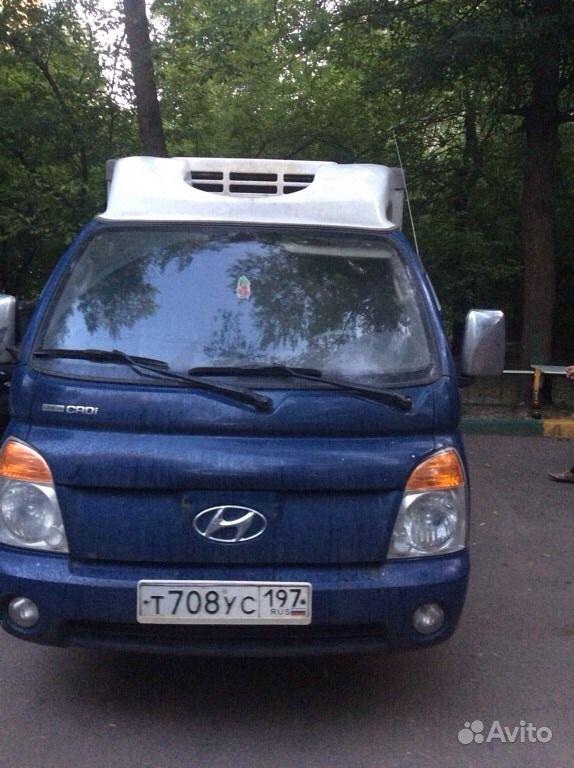 водитель на hyundai porter