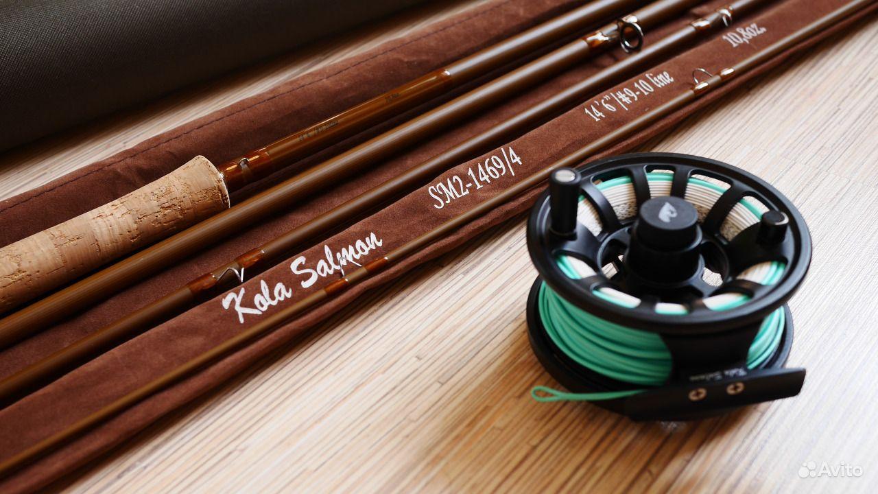 Двуручное удилище в тубусе kola salmon sm2 1469 4