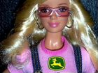 Коллекционная Барби Джон Дир Barbie John Deere