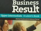 Student's book oxford Business Result upper i