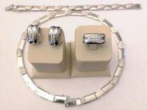 Золотое колье с бриллиантами 2.52 ct Испания
