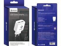 Блок питания зарядка адаптер USB 5V 2A