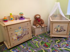 Детские кроватки  по низким м