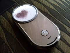 Motorola Aura Diamond Gold