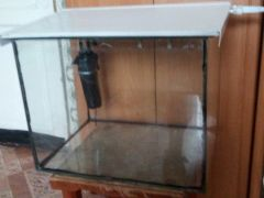 Аквариум 50 литров, квадратный