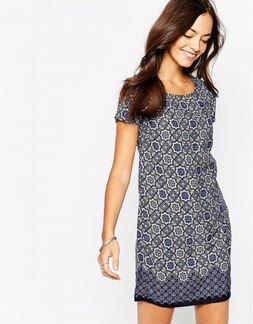 Новое платье-туника с принтом New Look