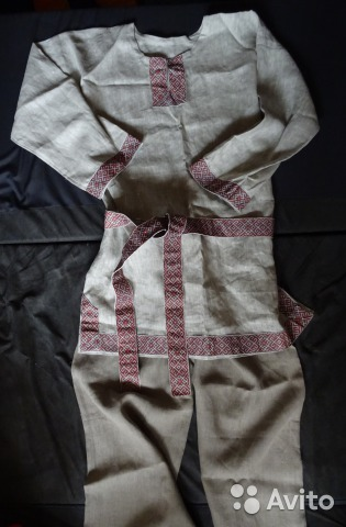 ed394756dd0 Русский народный костюм (славянский)