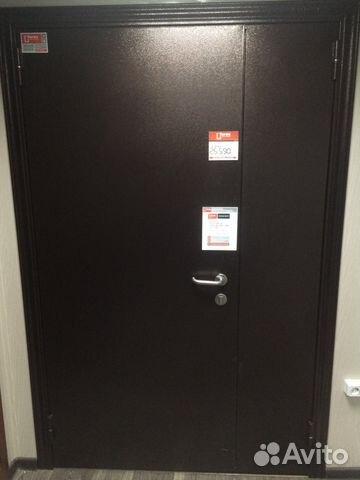 двери металлические тамбурные 2050 1300