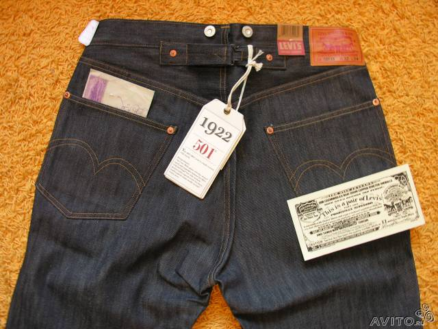 Levis Vintage LVC 501 XX 1922 made in USA 32x34