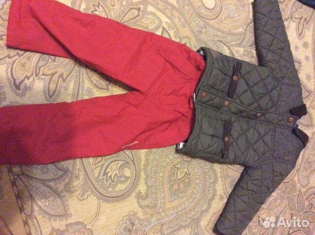Куртка next штаны Didrikson 2-4 года