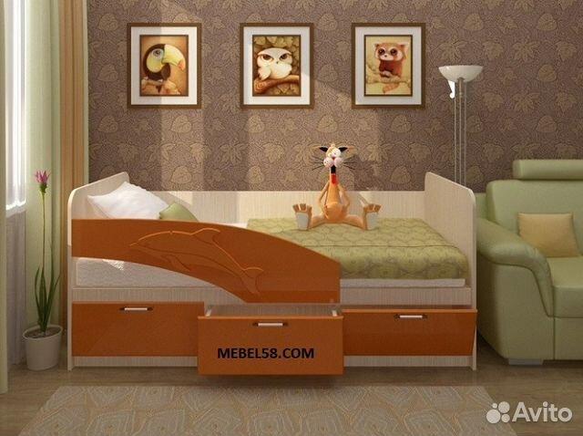 Детские кровати нижний