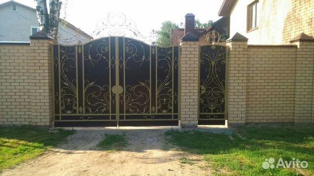 Авито казань ворота калитки казань комплект для откатных ворот ролтэк микро в домодедово