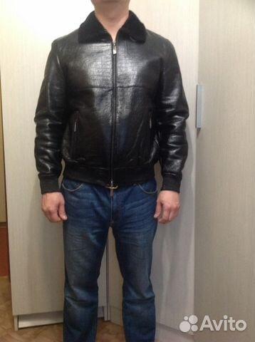 Кожаная куртка маловата
