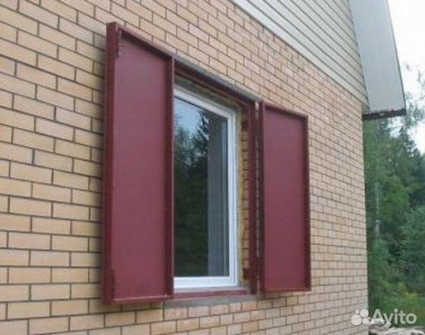 металлические ставни на окна в куровском