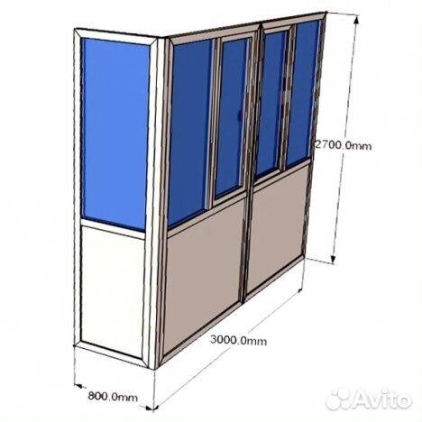 Услуги - балконы пвх в кемеровской области предложение и пои.