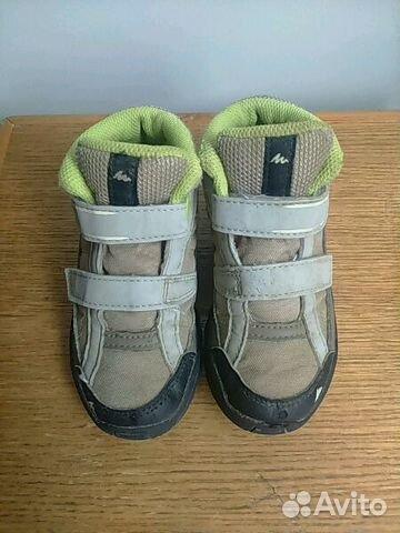5a05819e65bc7 Детские кроссовки- ботинки quechua, туфли Антилопа купить в Москве ...