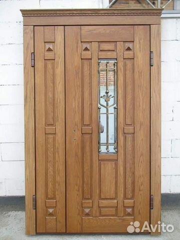 дубовые входные двери в серпухове