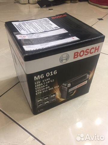 Аккумулятор bosh для мотоцикла suzuki купить в Московской области