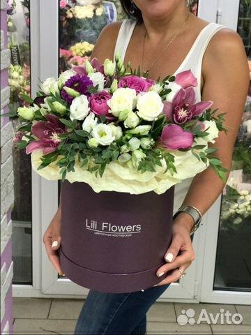цветы в коробочках фото