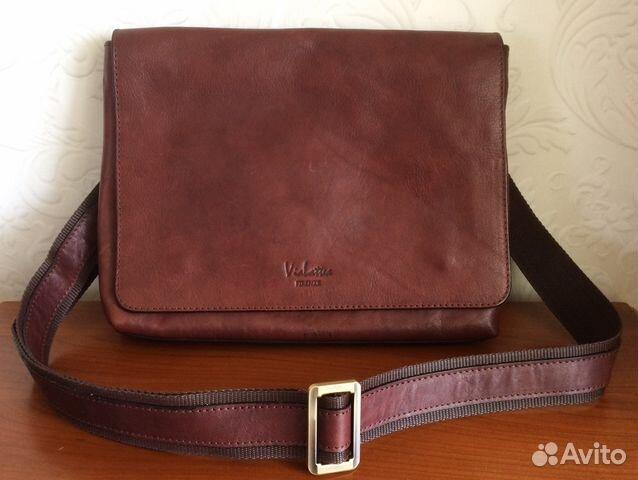 dd1bb98b4c75 Новая кожаная сумка Vialattea Firenze из Италии купить в Москве на ...