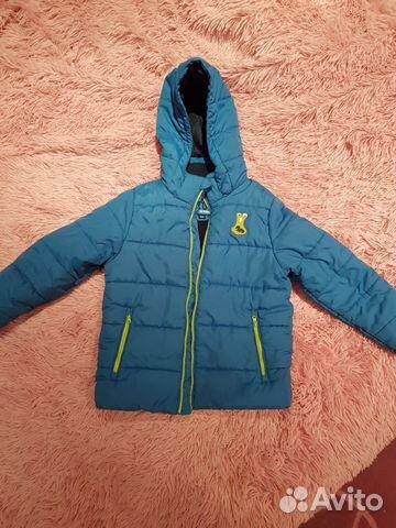 Зимняя куртка cool club 122p купить в Санкт-Петербурге на Avito ... a608b635818