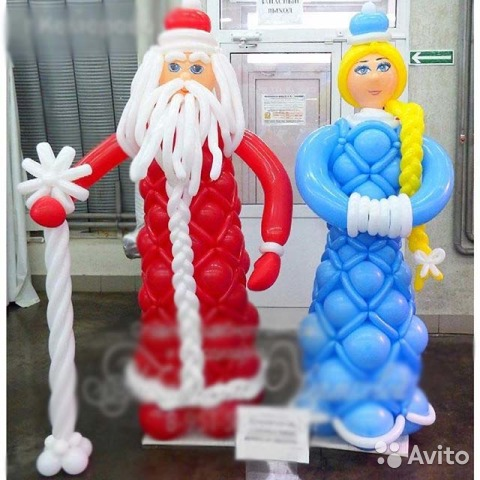 новогодние фигуры в хабаровске