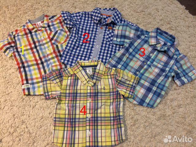 622306afd81 Рубашки на мальчика