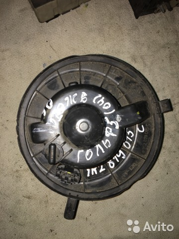 Мотор печки отопитель салон Фольксваген 1K2819015C— фотография №1