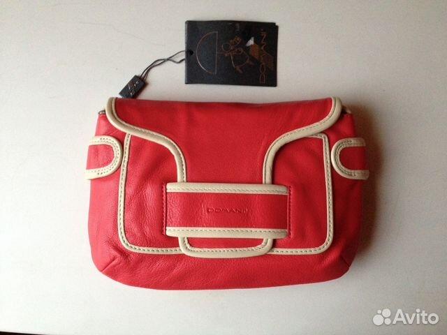 6a02f5b5d05e Кожаная красная сумка Domani   Festima.Ru - Мониторинг объявлений