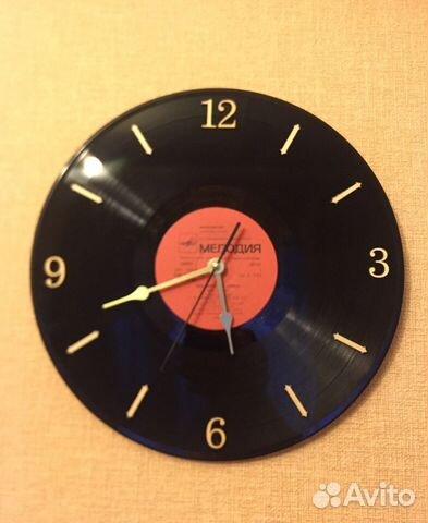 Часы настенные виниловая пластинка 89526551273 купить 3