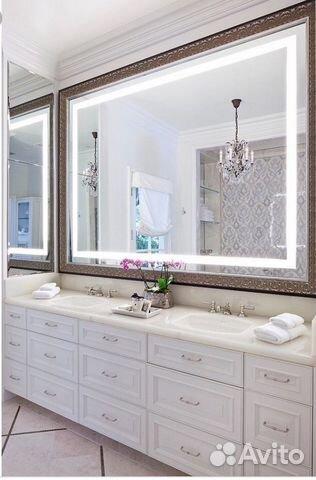 bf498f87ac9e Зеркало с подсветкой В ванную купить в Москве на Avito — Объявления ...