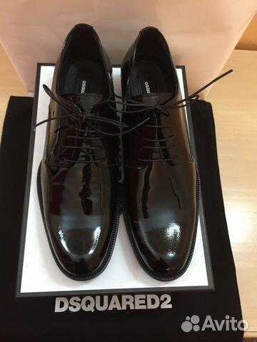 8b5a1c3a847a Dsquared 2 лаковые туфли (ботинки) женские новые купить в Москве на ...