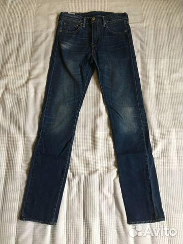 5f52c9cd808 Мужские джинсы Levis 510 (skinny) синие (W29 L34)
