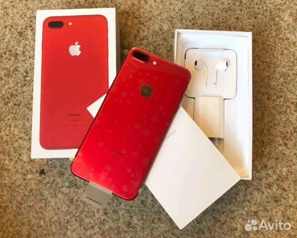 iPhone 7 plus 128GB Red новый