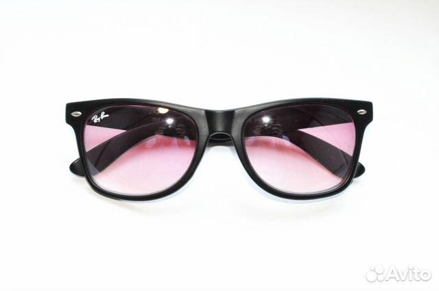 Очки Ray Ban Wayfarer 2140 901 черный розовый купить в Москве на ... 22c0ff6df5935