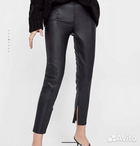 eeac5bc15aec4 Леггинсы брюки Zara кожаные новые | Festima.Ru - Мониторинг объявлений