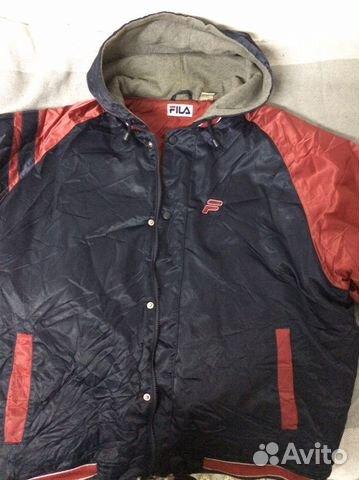 1ec34e9c Куртка-бомбер с капюшоном fila | Festima.Ru - Мониторинг объявлений
