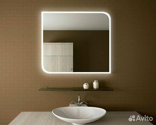 454b0caac1a5 Дизайнерское зеркало для ванной комнаты с подсветк купить в Москве ...