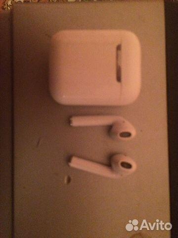 без проводные наушники Apple Airpods Festimaru мониторинг