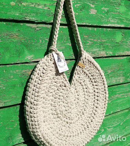cbe1886a81b7 Пляжная сумка из хлопкового шнура   Festima.Ru - Мониторинг объявлений