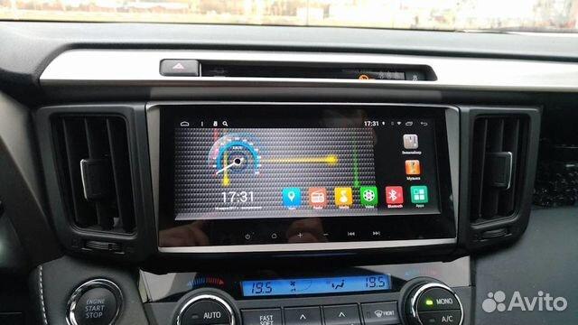 Автомагнитола Toyota RAV4 IPS 31017V Redpower