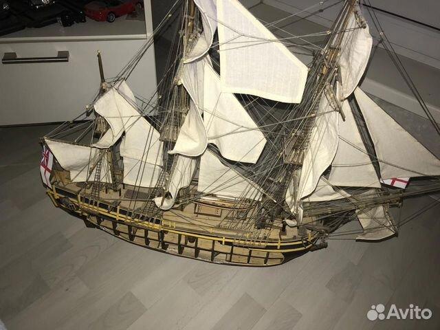 d402007f38a4 Модель корабля HMS Баунти с разрезом   Festima.Ru - Мониторинг ...