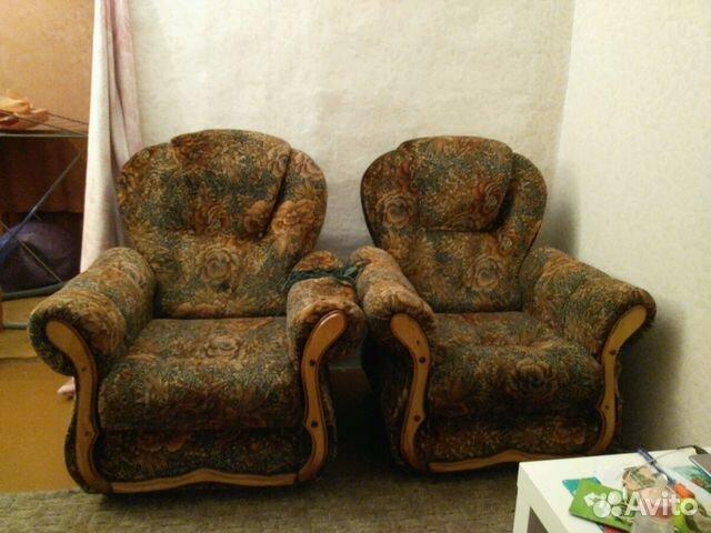 мягкая мебелькресла диван купить в пензенской области на Avito