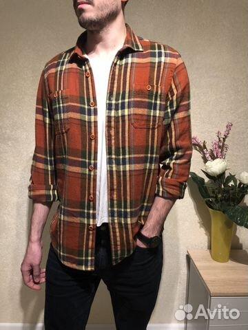 644f5ca092f Винтажная мужская фланелевая рубашка Ben Sherman к