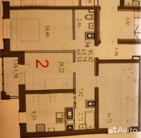 Продается трехкомнатная квартира за 2 900 000 рублей. Дмитровский городской округ, Московская область, Луговая улица, 14.